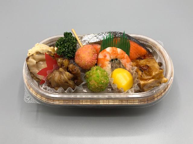 彩り弁当 650円(税込)